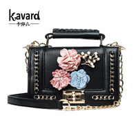 Kavard Mini Bead Beach Bag Handbags Women Famous Brand Luxury Handbag Women Bag Designer Crossbody Bag