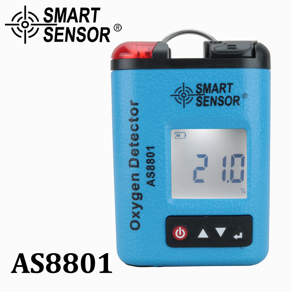 Portable Automotive O2 Oxygen Meter monitor gas leak detector Industrial digital Gas analyzer tester Sound Light Vibration Alarm