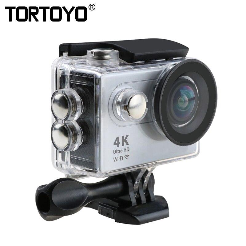 H9R Sports de plein air caméra d'action Ultra HD 4 K WIFI 1080 P 2.0