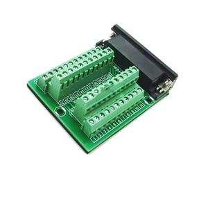 Image 5 - DB44 44 conector de montaje de riel DIN macho hembra Mini Terminal Breakout adaptador de placa Tipo PCI