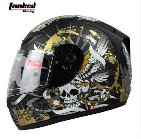 Tanked Racing design Jesus motorcycle Helmet MOTO full face dirt biker motorbike motocross off road safety helmets black M XXL