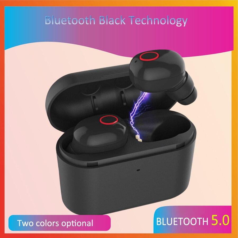 T13 TWS Ture écouteurs bluetooth sans fil 5.0 casque avec micro Mini oreillette bluetooth In-Ear Sans Fil Écouteurs pour téléphones intelligents