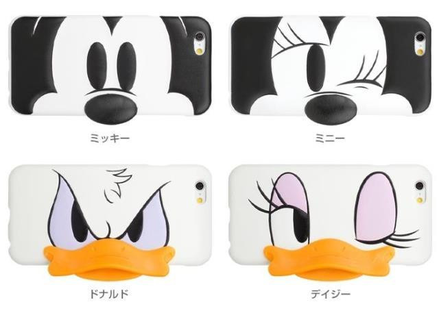 3D Cartoon Mickey Minnie Mouse Daisy Donald Duck Smiling Angry Face