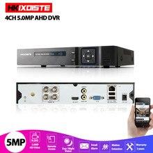 HKIXDISTE – XMeye Hi3521D H265 5mp 4mp 8 canaux 5 en 1 USB hybride 3G WIFI TVi CVI NVR AHD CCTV CCTV enregistreur vidéo