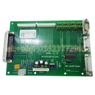 WIT COLOR Ultra 1000 Terminal Board printer parts