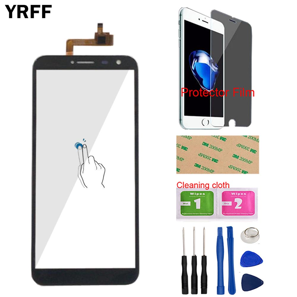 5.5'' Phone Touch Screen For Dexp Ixion Z255 Touch Screen Digitizer Panel Front Glass Sensor Repair Tools Free Protector Film