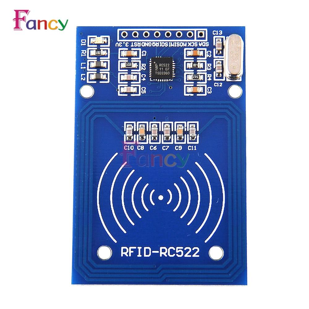 13.56MHz RFID Module For Arduino MF RC522 RC-522 Reader Writer Sensor Card Module I2C Interface 2 Pins 3.3V DC