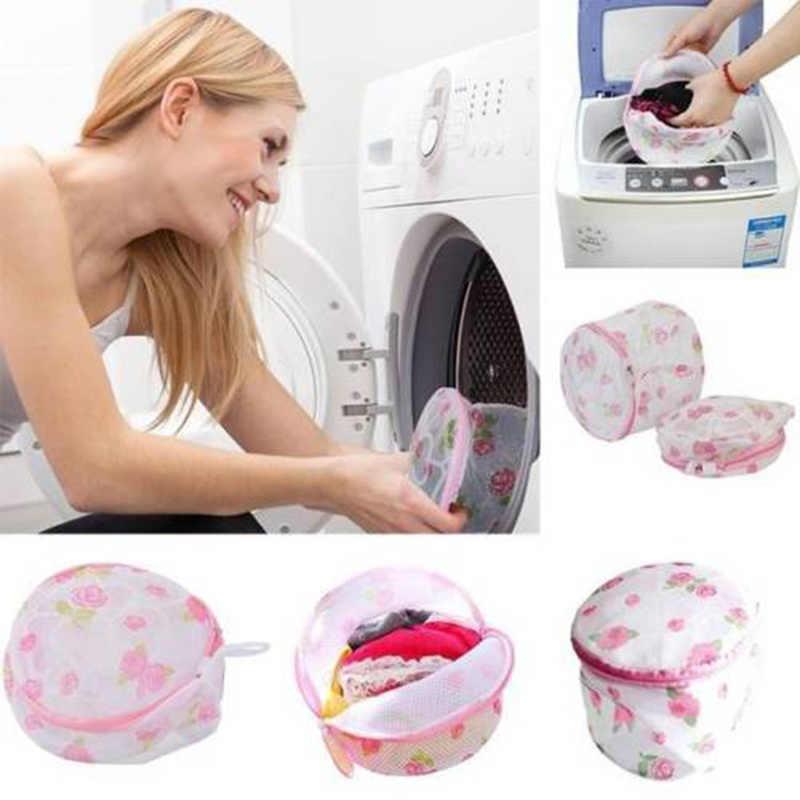 2019 Nova Lavagem Uso Doméstico Malha Vestuário Roupa Interior Saco De Lavagem Organizador Útil Malha Net Saco de Lavagem Sutiã Saco de Roupa Suja com zíper