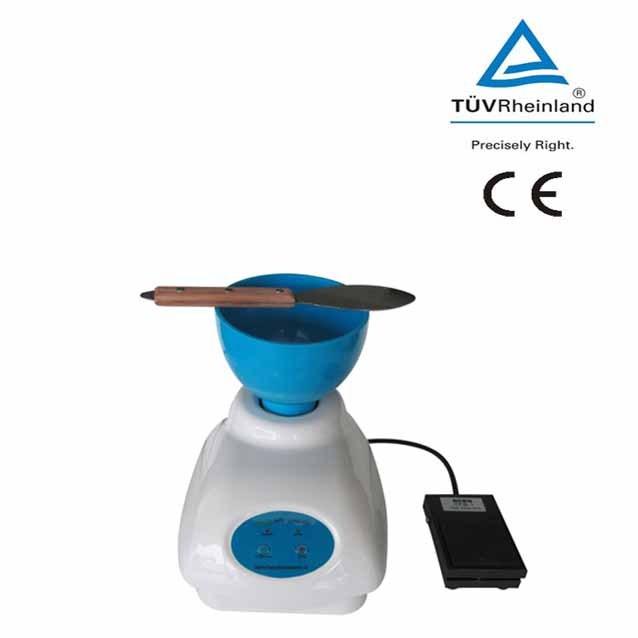 New Lab Dental Alginato Mixer Material Novo + Tigela + Pé Controle de Pedal HL-YMC 2 frete grátis
