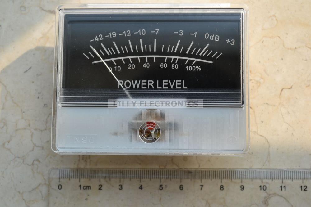 DB Level Header Amplifier chassis Audio Backlight TN-90 Panel VU meter цены