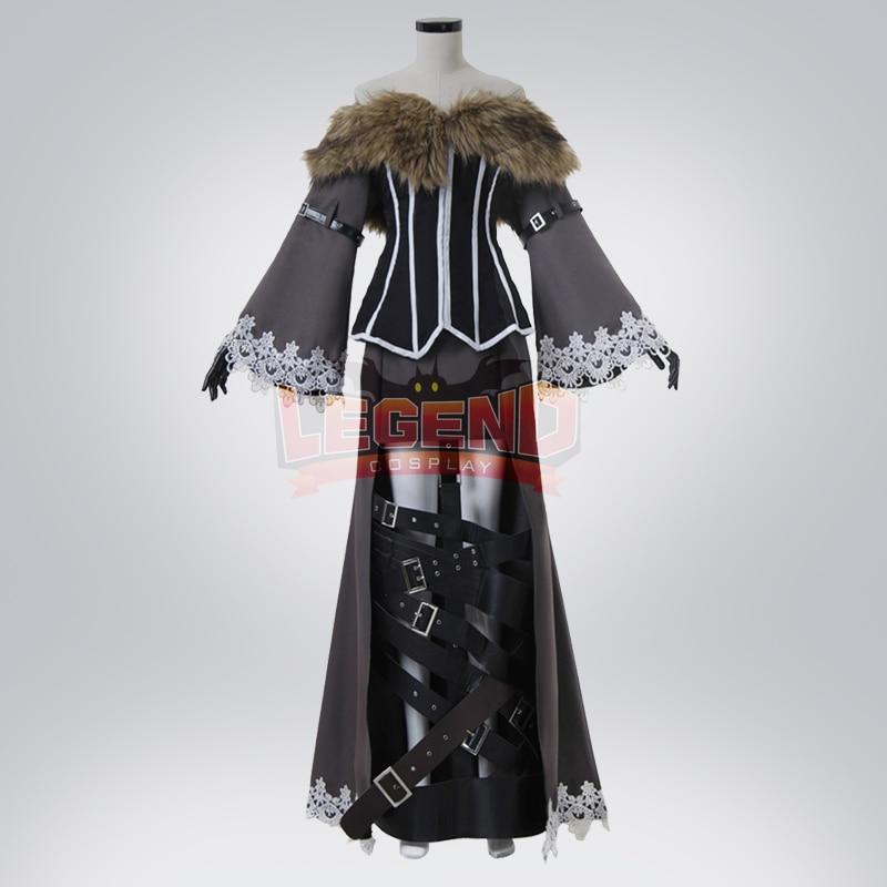 Cosplay legend Final Fantasy X Lulu Cosplay adult costume Custom Made full set halloween women costume
