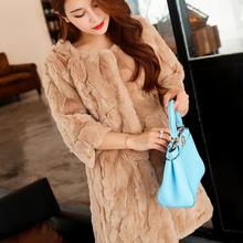 100 Real Natural Pure Rex Rabbit Fur Coat Real Rex Rabbit Fur Jacket Warm Thick Fur