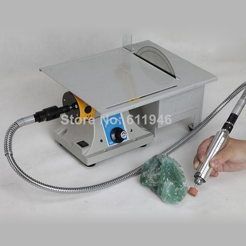 1pcs Multifunctional Mini Bench Lathe Machine Electric Grinder / Polisher / Drill / Saw Tool 350w 10000 R/Min