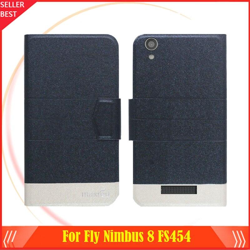 5 Warna Panas! Fly Nimbus 8 FS454 Telepon Kasus Kulit Penutup, 2017 - Aksesori dan suku cadang ponsel - Foto 2