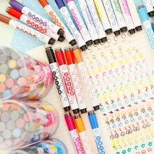 Chenguang schreibwaren kind studenten pinsel doodle stift mit stempel wasser farbstift kunstmarkierungen