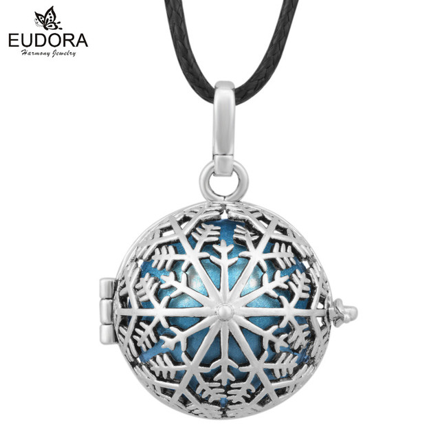 Guardian angel caller jewelry blackened snowflake floating locket guardian angel caller jewelry blackened snowflake floating locket charm harmony bola baby ball pendant chime bell mozeypictures Choice Image