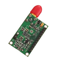 vhf uhf 38400bps VHF UHF משדר מודול 433MHz מקלט אלחוטי RS485 משדר 868 MHz עבור מערכת אלחוטית מוטבע (5)