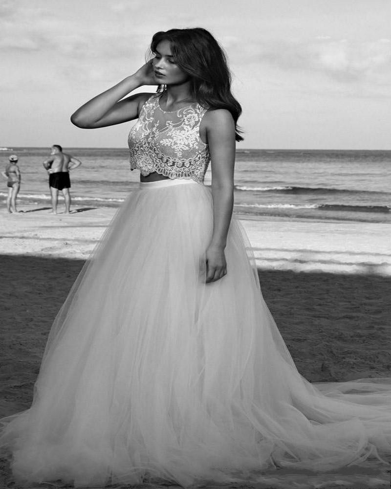 jeweled wedding dress White by Vera Wang bridal ball gown with jeweled lattice bodice Style VW