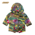 Camouflage Floral Kids Jackets Autumn/Winter Boys and Girls Hooded Outerwear & Coats Teens Parkas Fashion Children's Clothing