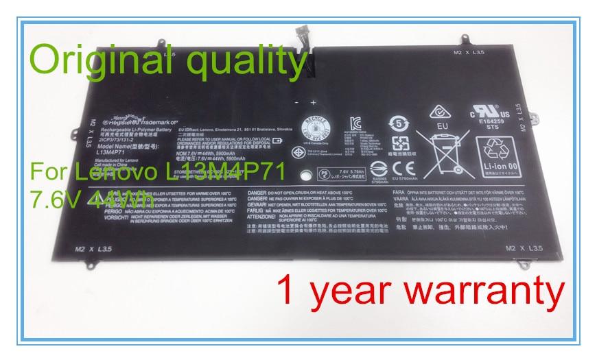 Original L13M4P71 Battery for 3 Pro 1370 Series Laptop L14S4P71 121500264 121500267 80HE000HUS цена