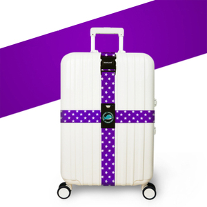 Image 5 - RHXFXTL Brand Luggage Cross belt adjustable Travel Suitcase band Luggage Suitcase rope Straps travel accessorie high quality H23