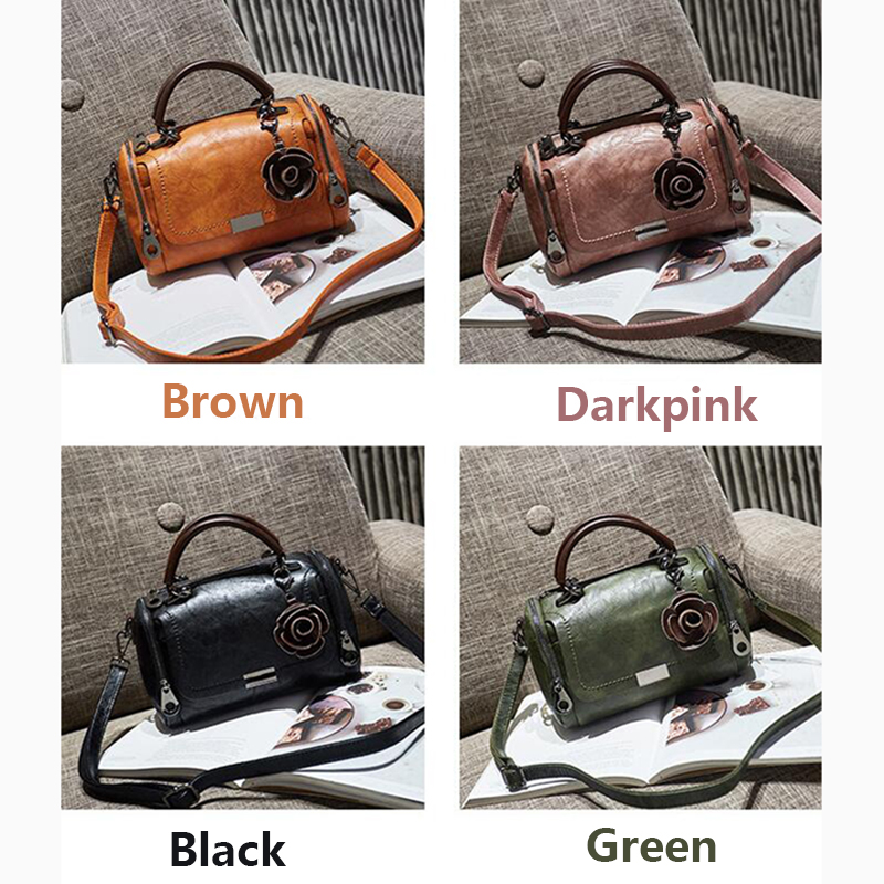 New flowers Pendant Handbag Women's fashion Bag