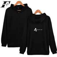 Hot Sale Resident Evil Autumn Long Sleeve Mens Hoodies And Sweatshirts In White Plus Size Fashion Casual Hooded Sweatshirt Men