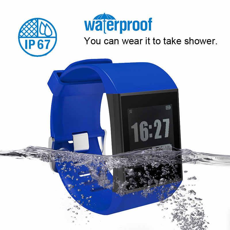 7ccb5b9fab3a54 ... DW007 Couple E-ink Smartwatch Activity Tracker Waterproof Sport  Bracelet Bluetooth Heart Rate Monitor Multi ...