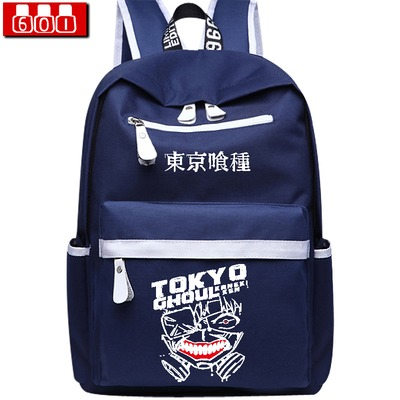 Anime tokyo ghoul Cosplay Japanese anime backpack large capacity travel backpack men and women backpack anime tokyo ghoul cosplay anime shoulder bag male and female middle school student travel leisure backpack page 4