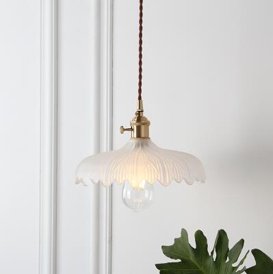 IWHD скандинавский стеклянный шар, подвесной светильник, светильники для столовой, гостиной, медный винтажный подвесной светильник, подвесной светильник s, Домашний Светильник ing - Цвет корпуса: 1