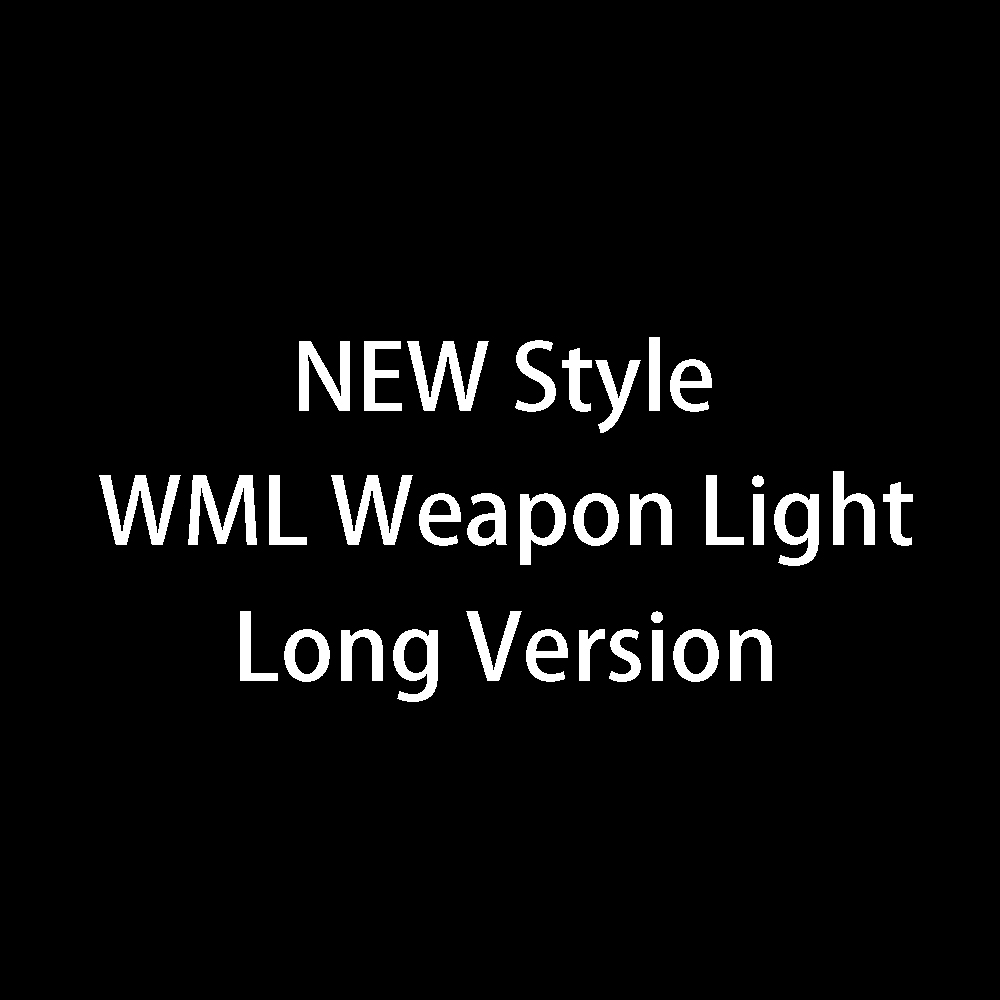 New WML Tactical Weapon Light Rifle Flashlight Fit 20mm Weaver Picatinny Rail For Hunting Scout Lanterna