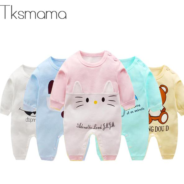 2019 Brand Baby Girl Boy Clothes Infant Clothing Jumpsuit   Rompers   ZJS00016