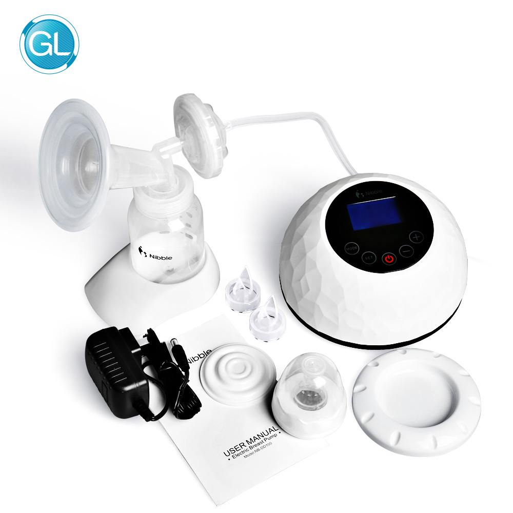 GL Automatic Electric Breast Pump Touch Panel Control Baby Breast Milk Feeding Milk Suct ...