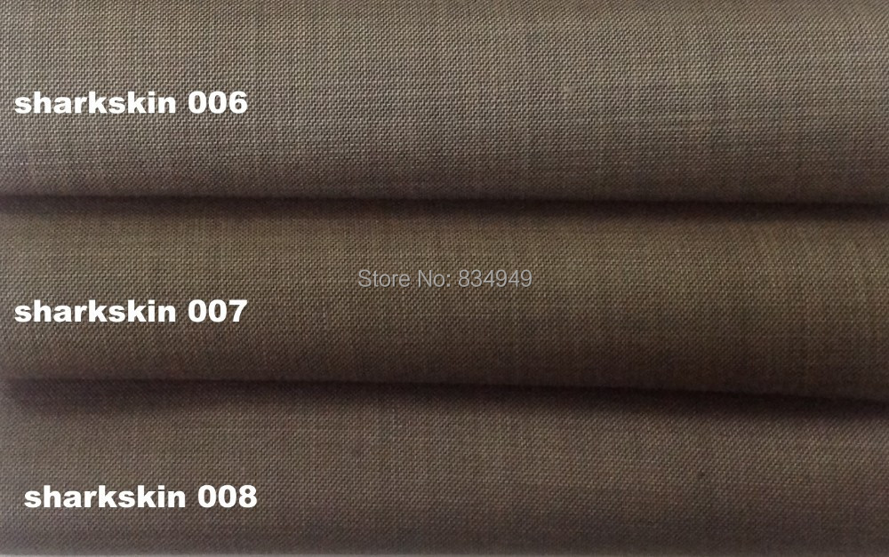 Aliexpress.com : Buy Brown Sharkskin Men Suit Custom Made Grey Two ...