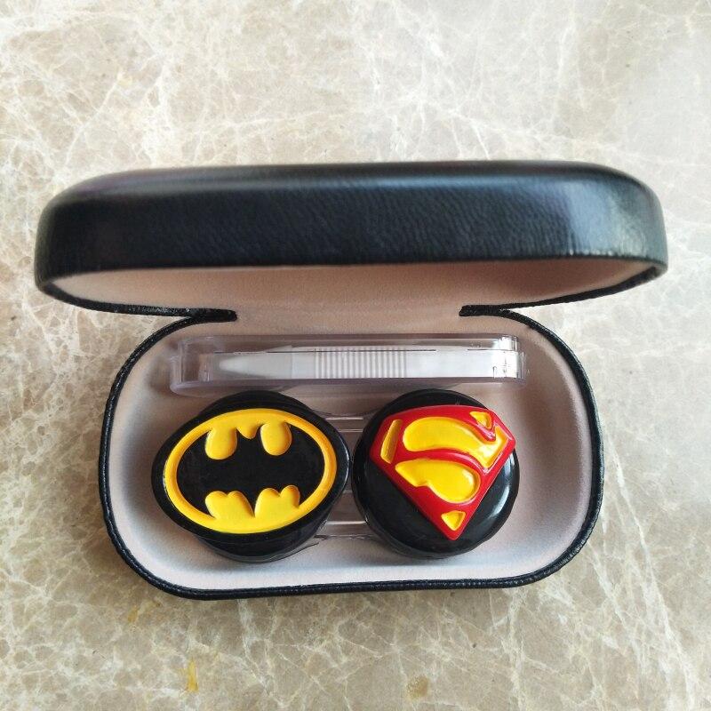 Liusventina Kontaktlinsen Container los Großhandel 10 Für Box Lippen Linsen Liebhaber Combo Teile Superman Fall Batman Farbe Mädchen Geschenk 8r18qSw
