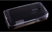 Оригинал Nillkin Ультра тонкий прозрачный Nature TPU чехол для Asus Zenfone 2 (ZE500CL) ТПУ Мягкая задняя крышка телефон Для Zenfone 2