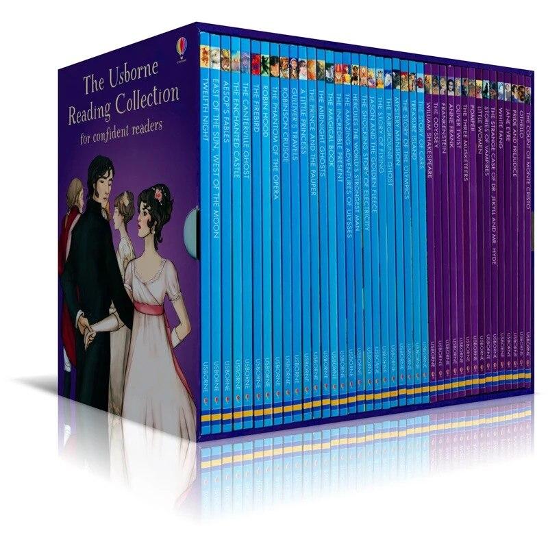 40 книги для детей книга на английском языке классический раннее развитие ребенка детей просвещение образование на английском языке чтение