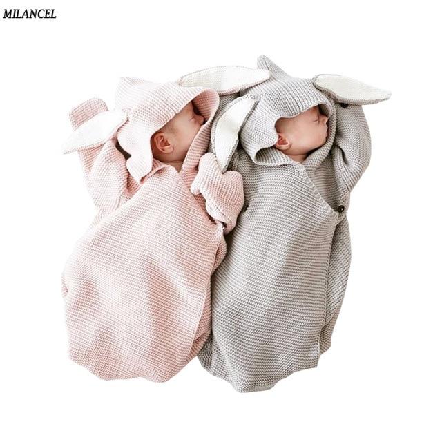 Milancel Baby mantas sobre para recién nacidos bebé cubre conejo ...