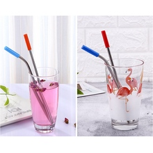 Set of Stainless Steel Straws