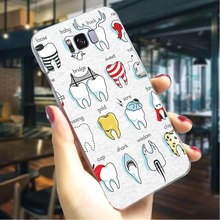 Dental Definitions Hard Cover for Samsung Galaxy A50 Hybrid Phone Case for Samsung Galaxy A3 A5 A6 Plus A7 A8 Plus Back Cases sword sao manga hard cover for samsung galaxy a6 plus 2018 shockproof phone case for samsung galaxy a50 a70 a3 a5 a6 plus