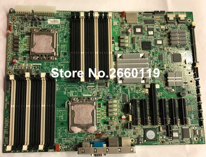 For ML350 G6 511775-001 461317-001 server motherboard, fully tested proliant ml350 g5 server heatsink and fan 411354 001 413977 001 well tested with three months warranty
