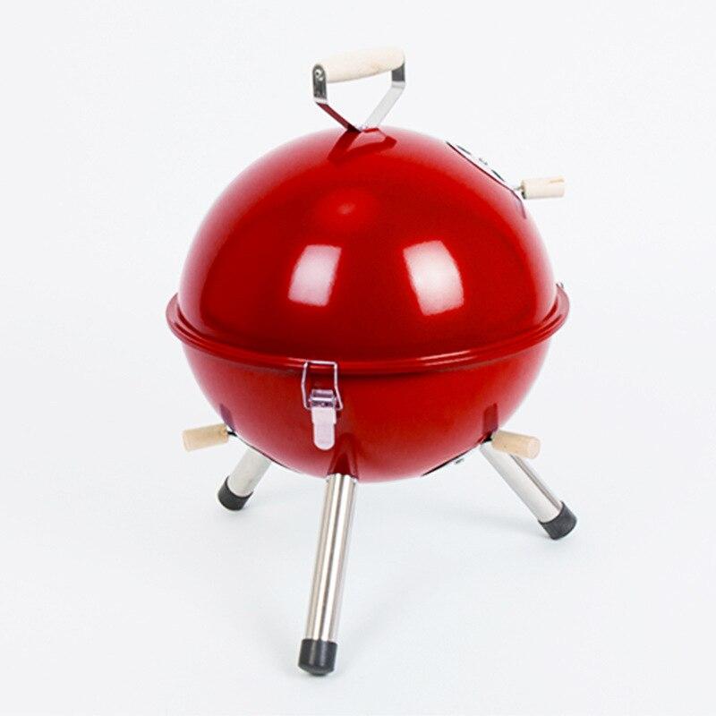 2016 barbecue extérieur pliant en acier inoxydable barbecue en carbone