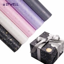 ZFWELL 5pz Star pattern card paper flowers packaging birthday wedding party small gift wrapping paper diy handmade props75