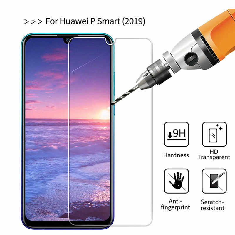 Screen Protector For Huawei Y7Pro Y9 P Smart Plus 2019 Tempered Glass For Honor 20i 10i 8A 8X 8C 7C Protective Film Anti-Scratch