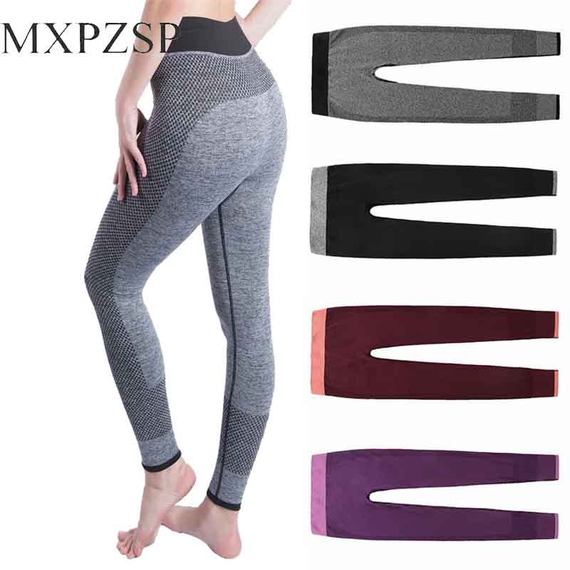 Yoga Pants Sports Leggings High Waist Seamless For Women Workout Slim Gym Fitness Push Up Running Tights Legging Patchwork Xl In Yoga Pants From Sports Entertainment On Aliexpress