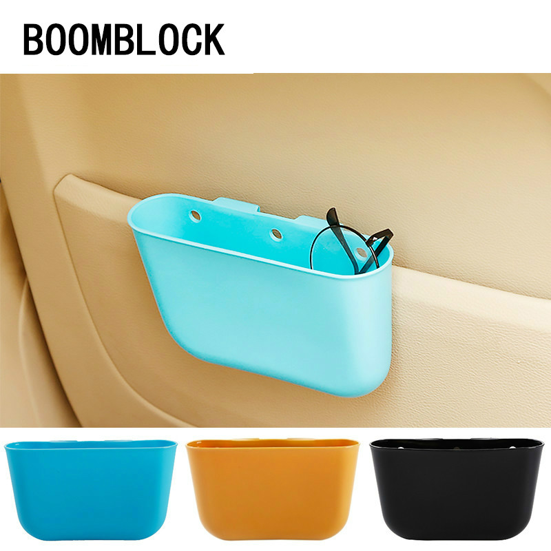Car Trash Can Rubbish Storage Box For Hyundai Creta Tucson BMW X5 E53 VW Golf 4 7 5 Tiguan Kia Rio Sportage 2017 Accessories