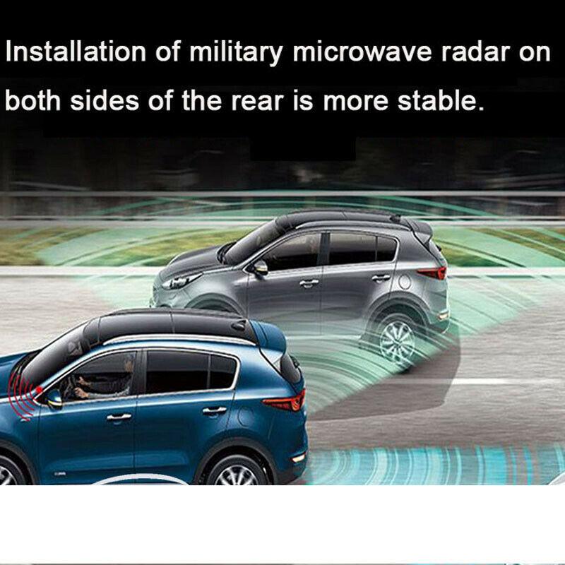 Newest Car Blind Spot Mirror Radar Detection System BSD BSA BSM Microwave Blind Spot Monitoring Assistant Car Driving Security