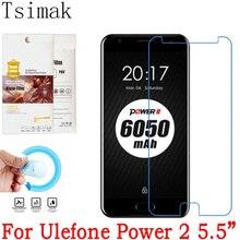 Для Ulefone Мощность 2 Экран протектор нано взрывозащищенные мягкие Стекло спереди Плёнки Ulefone Мощность защитный Плёнки tsimak