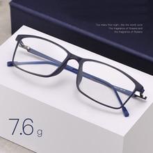 Handoer סגסוגת רגליים Tr 90 מול שפה אופטי משקפיים מסגרת לגברים Eyewear משקפיים משקפיים מרשם אופטי Eyewear
