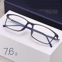 Handoer 合金脚 Tr 90 フロントリム光学メガネフレーム男性眼鏡眼鏡眼鏡光学処方眼鏡